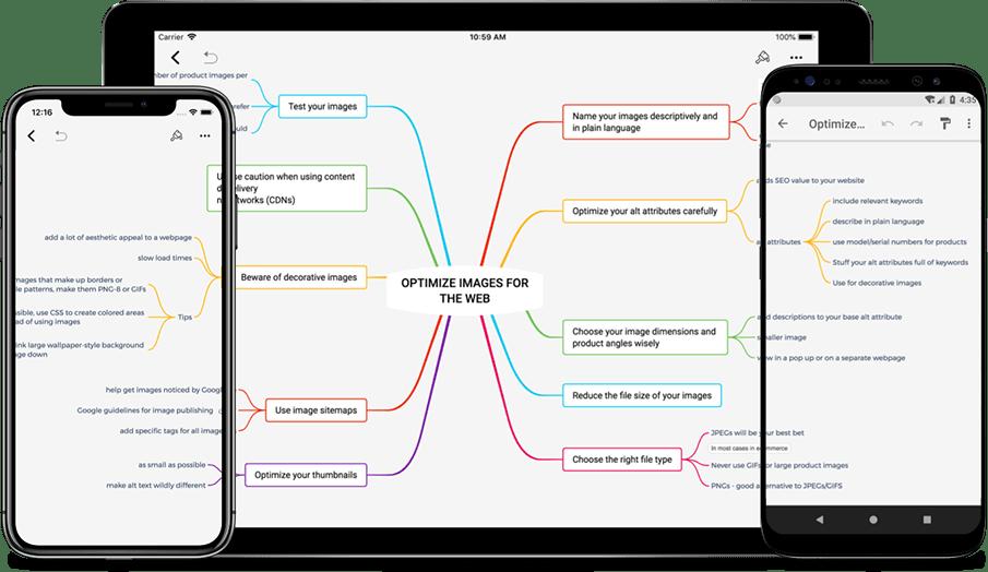 aplikasi mind mapping Xmind